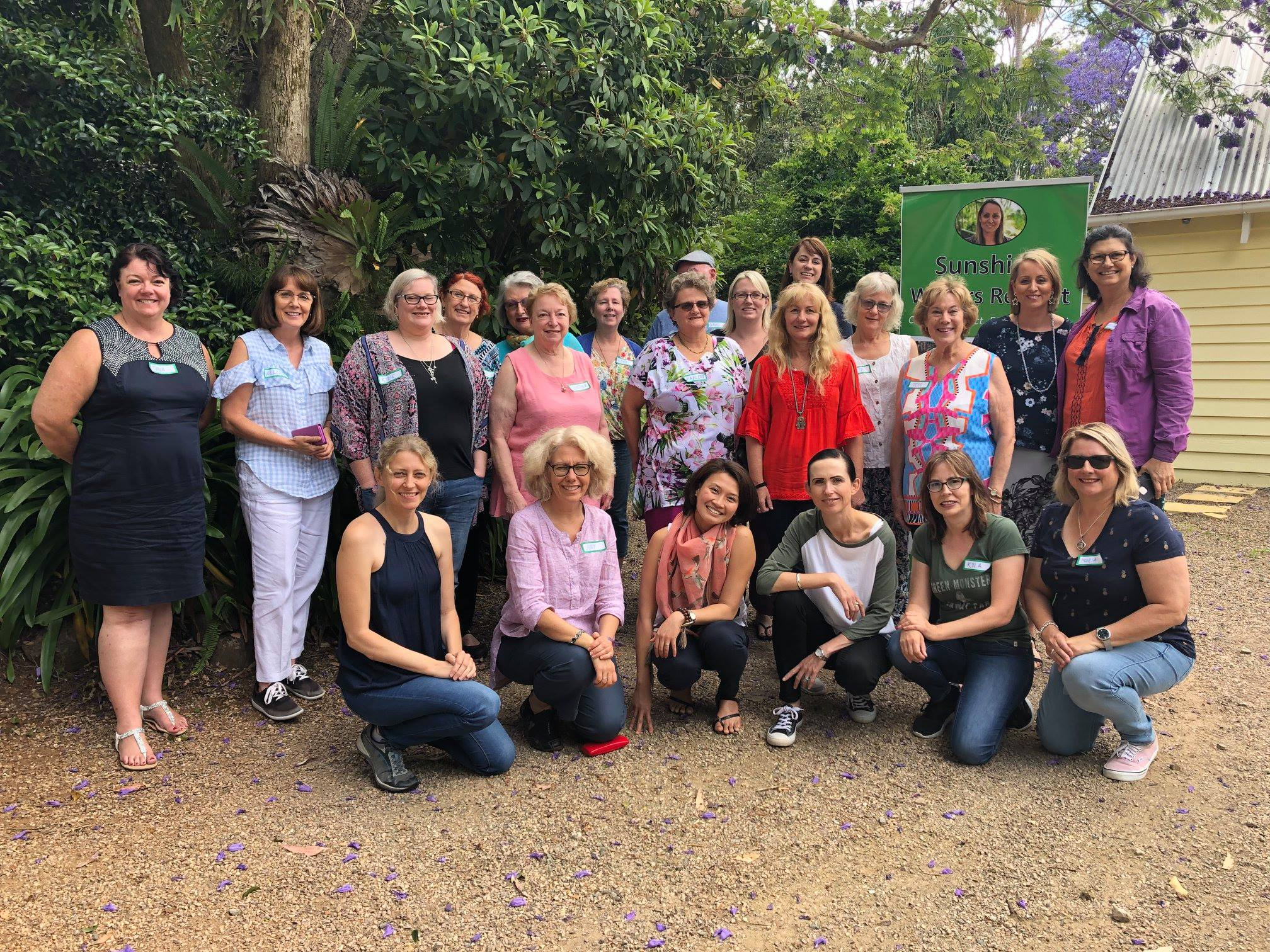 Sunshine Writers Retreat 2018